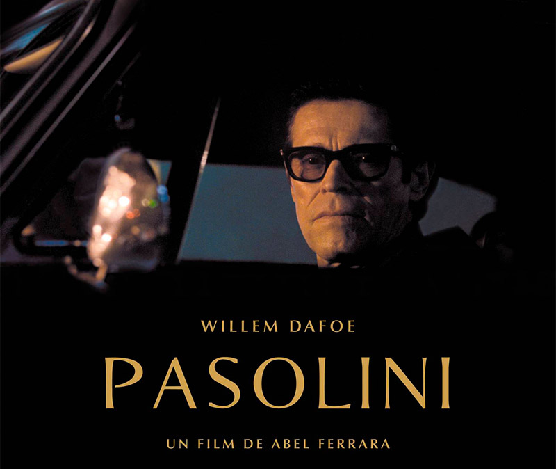 "APERITIF AND PROJECTION OF THE ""PASOLINI"" FILM BY ABEL FERRAR"