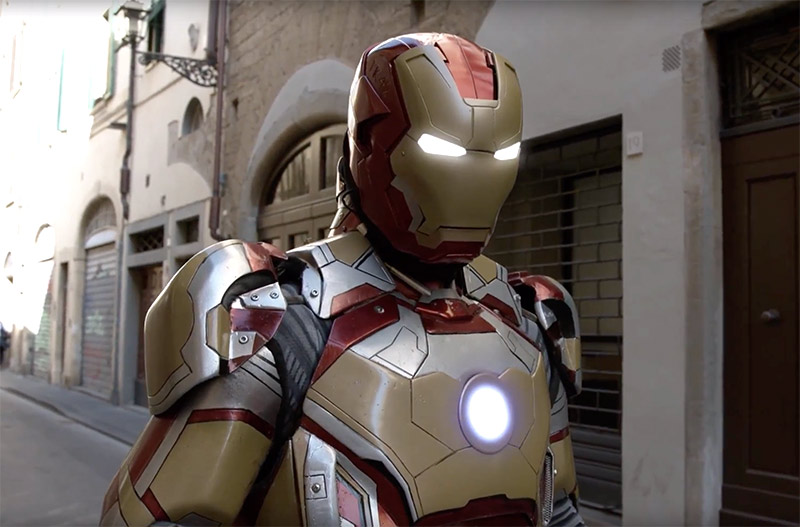 IRON MAN IN FLORENCE