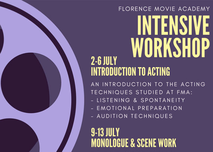 INTENSIVE ACTING WORKSHOP