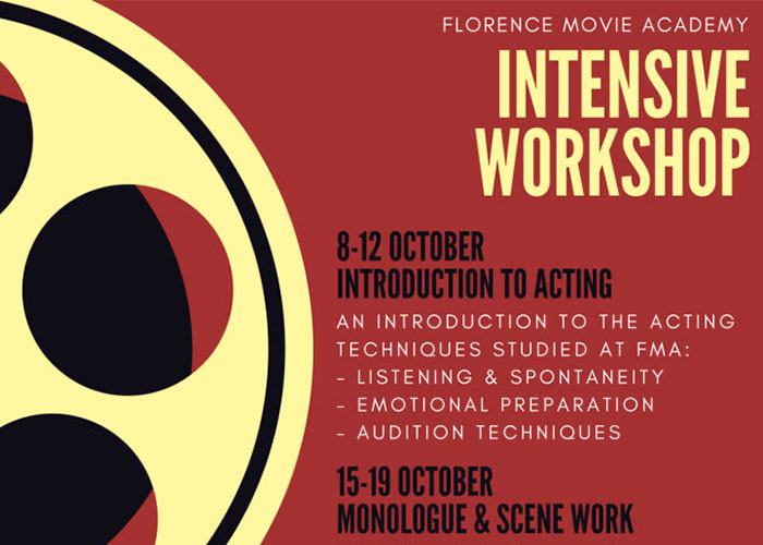 INTENSIVE WORKSHOP OCTOBER